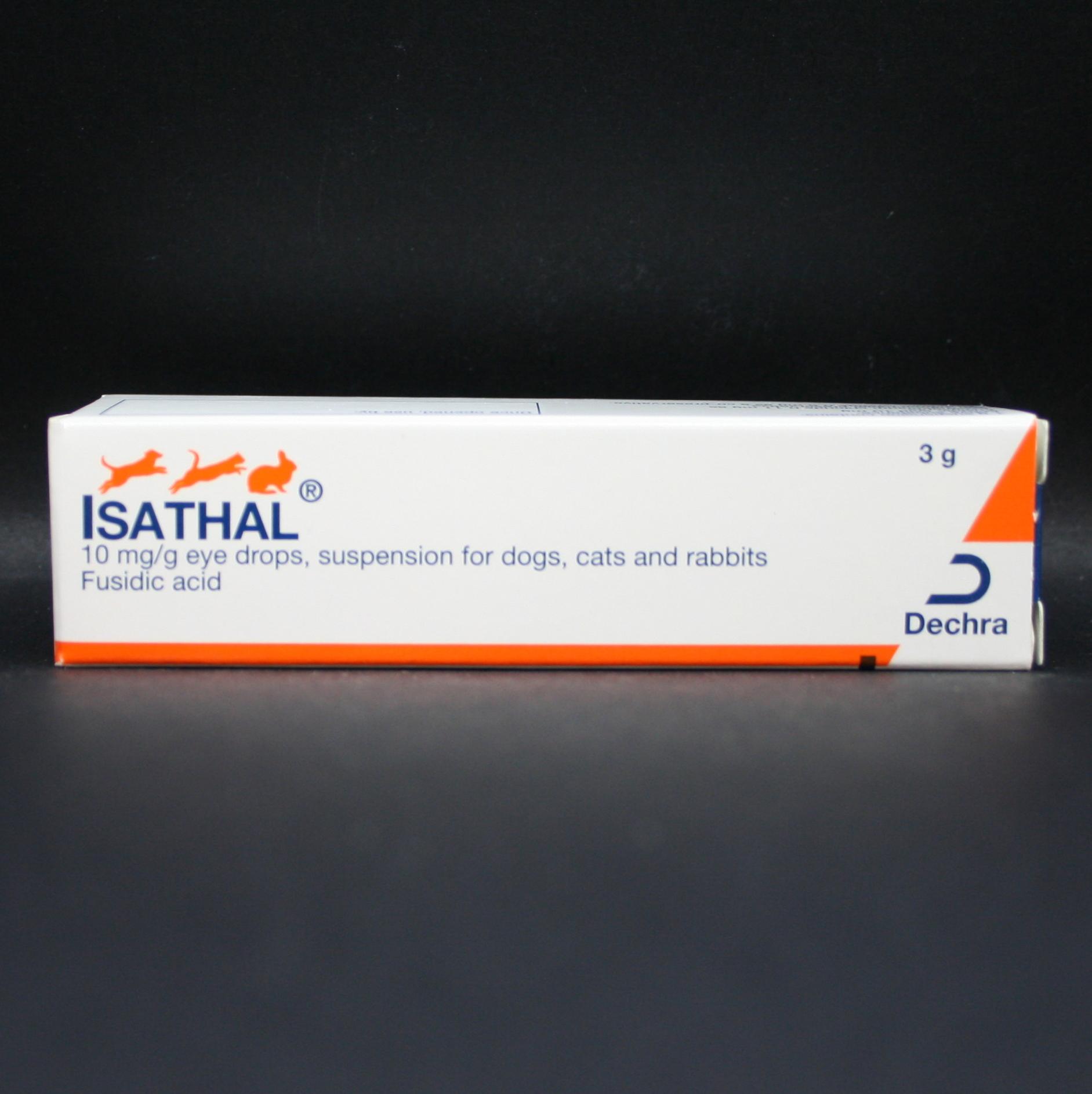 Isathal 10mg/g Eye Drops 3g