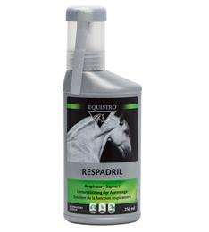 "<p>Equistro Respadril is an effective respiratory supplement, formulated to be given as a 5-7 day course to aid your horse's natural immune response to respiratory disease or allergies. </p> <p><span style=""color: rgb(192, 80, 77);"">Please be aware, this product is no longer safe to use if competing under FEI rules. </span> </p>"