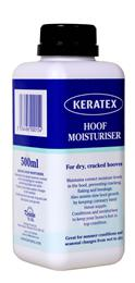 Keratex Hoof Moisturiser is an ideal product for any horse with brittle, dry, dehydrated hooves. It effectively restores the correct moisture levels to the hoof & then maintains them at the right level for optimal hoof condition & growth.