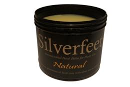 Silverfeet Hoof Balm contains all natural ingredients, including Silver. Silver is effective against most bacteria & fungi, helping to prevent & treat foot infections, such as thrush, white line disease & abcesses, as well as encouraging healthy horn growth.