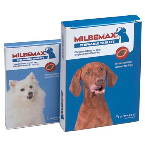 Milbemax Chewable Tablets For Dogs From 163 2 16 163 3 39